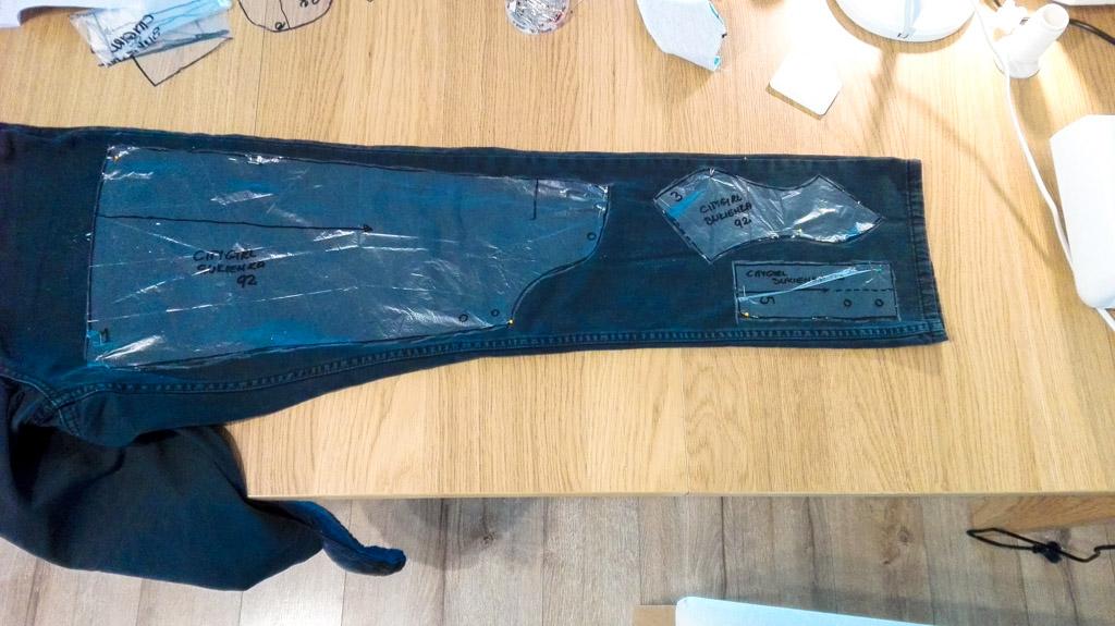 Upcycling - sukienka jeansowa