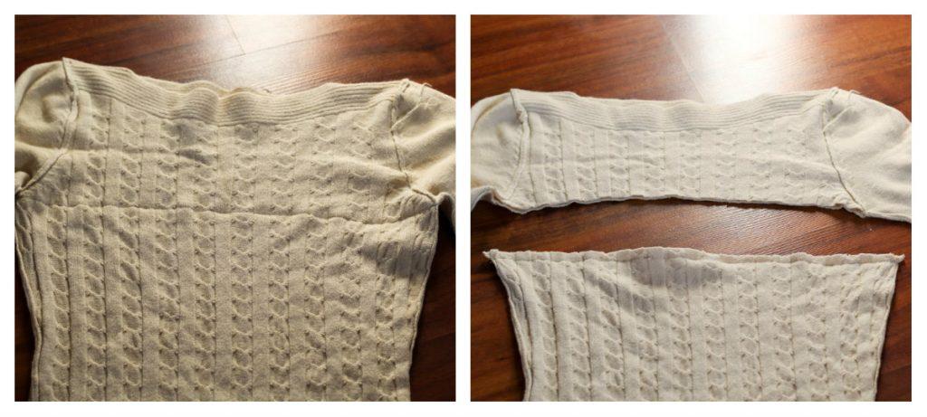 poszewka na poduszkę, ciepła poszewka na poduszkę, poszewka ze swetra